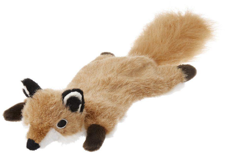 Frisco Fur Really Real Flat Fox Dog Toy Small Chewy Com Fox