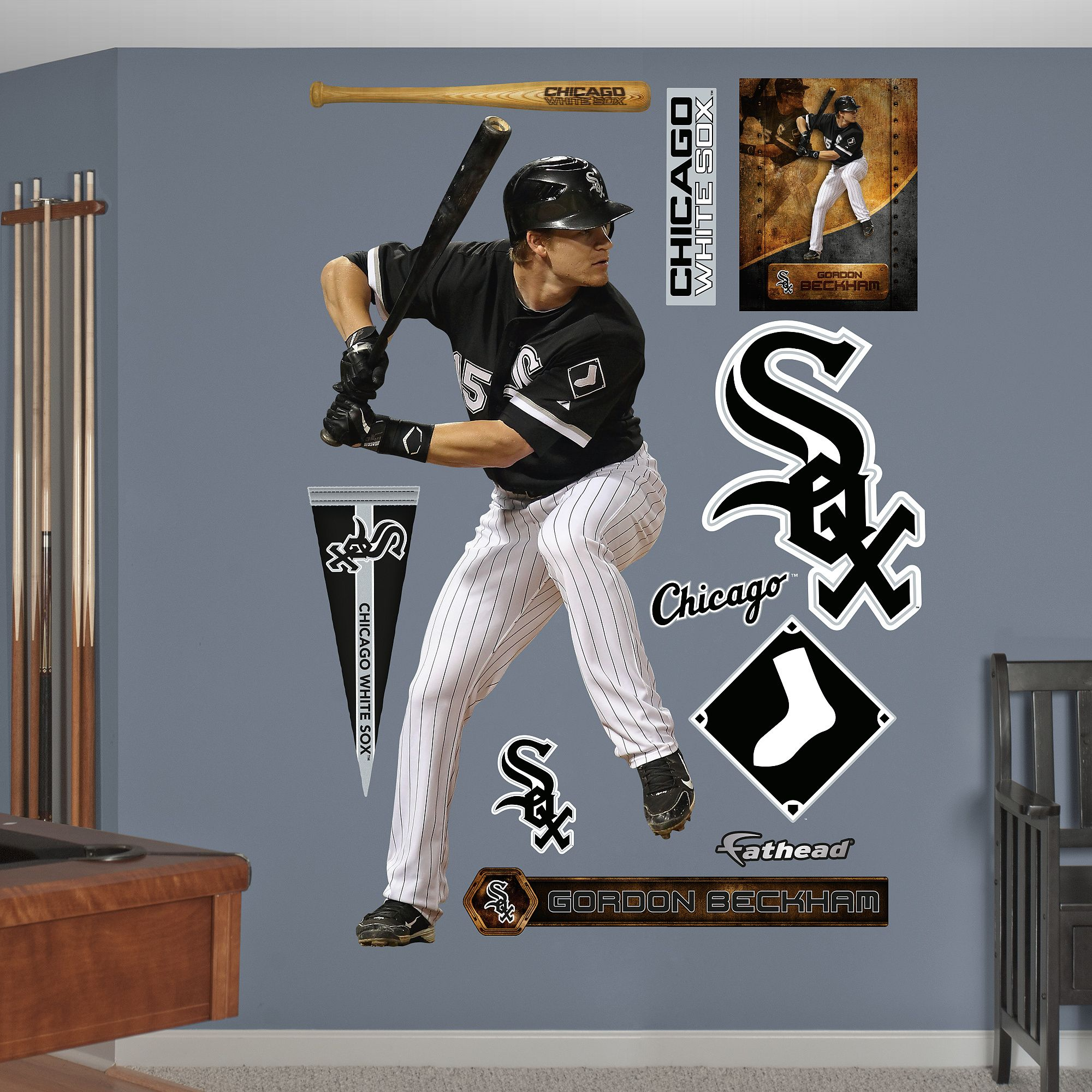 Chicago White Sox Fathead Wall Decals & More - Shop