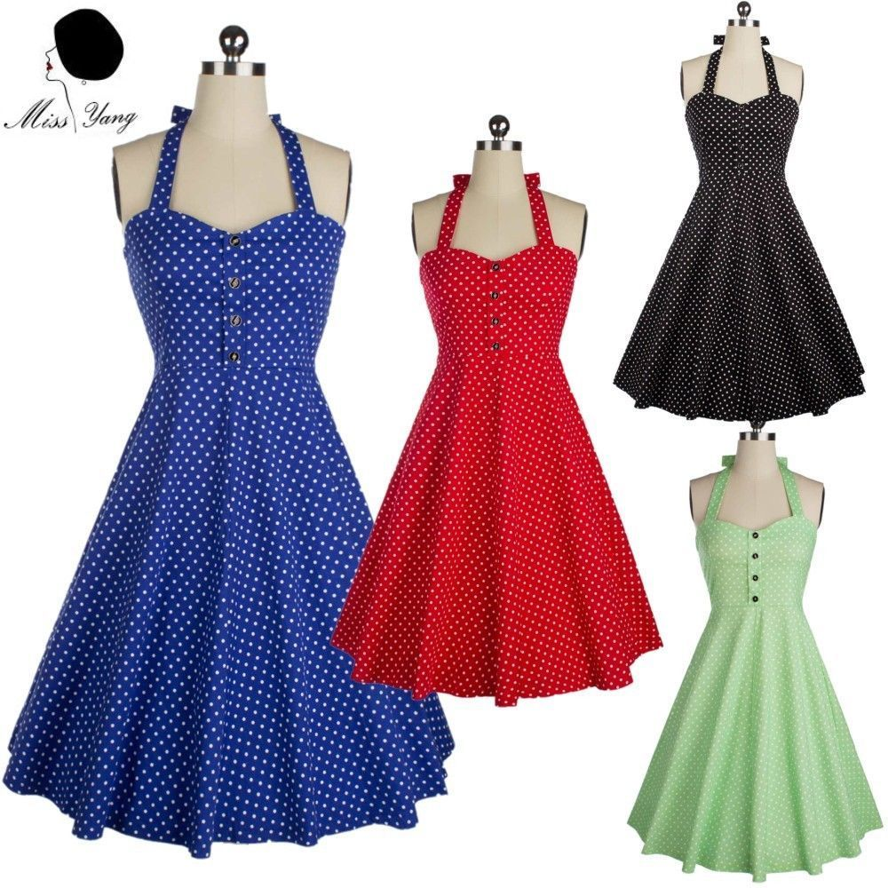 Vintage retro s s swing rockabilly pinup evening cocktail party