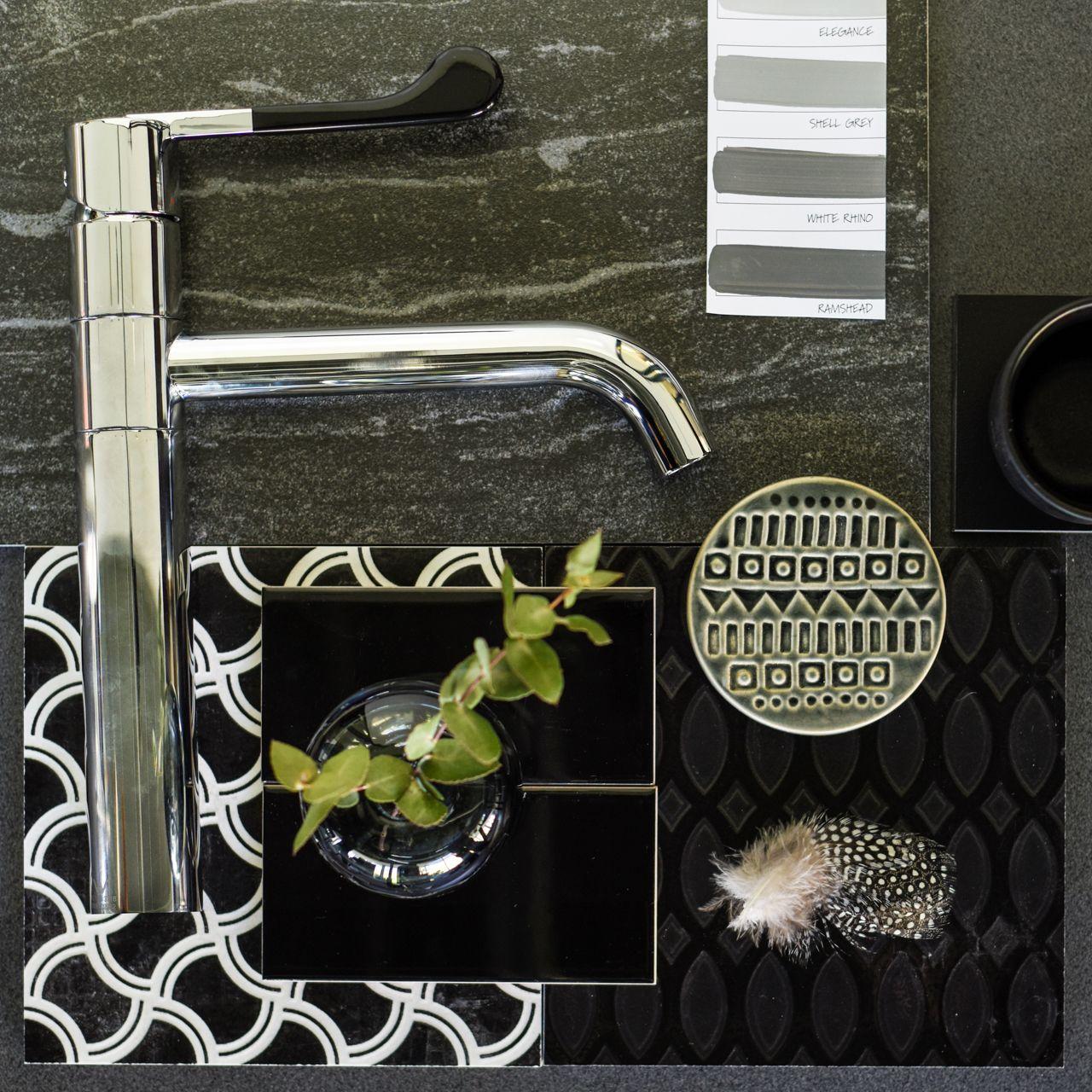Print on Print - Dorf Hepburn Sink Mixer #kitcheninspo #dorf ...