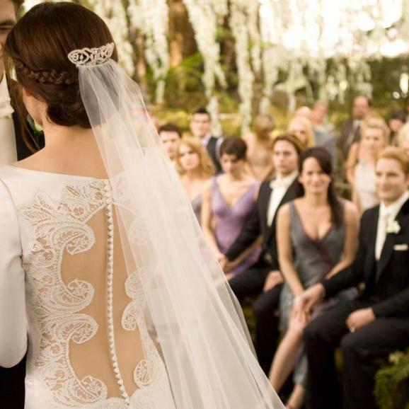 Vestido de novia de isabella swan