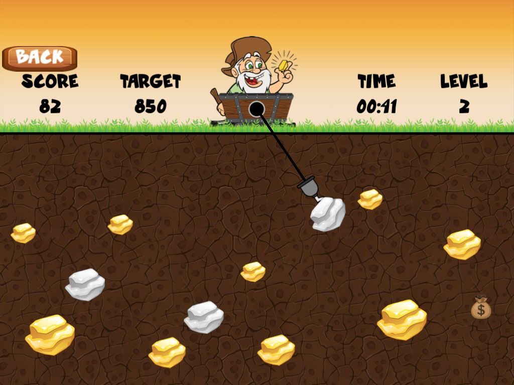 Gold Miner Grandpa + Ready For Publish + Android Games