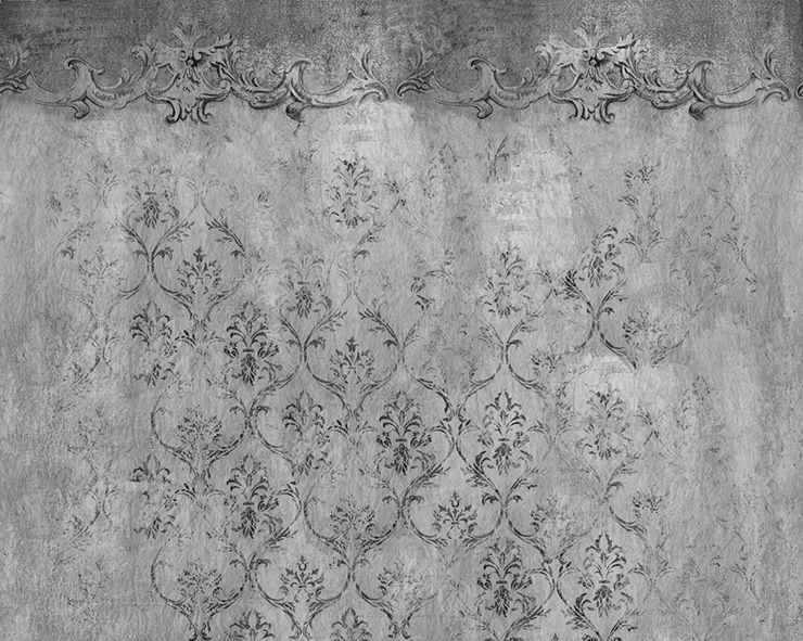 Wall and deco evanescense grijs beton wallpaper bathroom pinterest wallpaper walls and - Deco toilet grijs ...