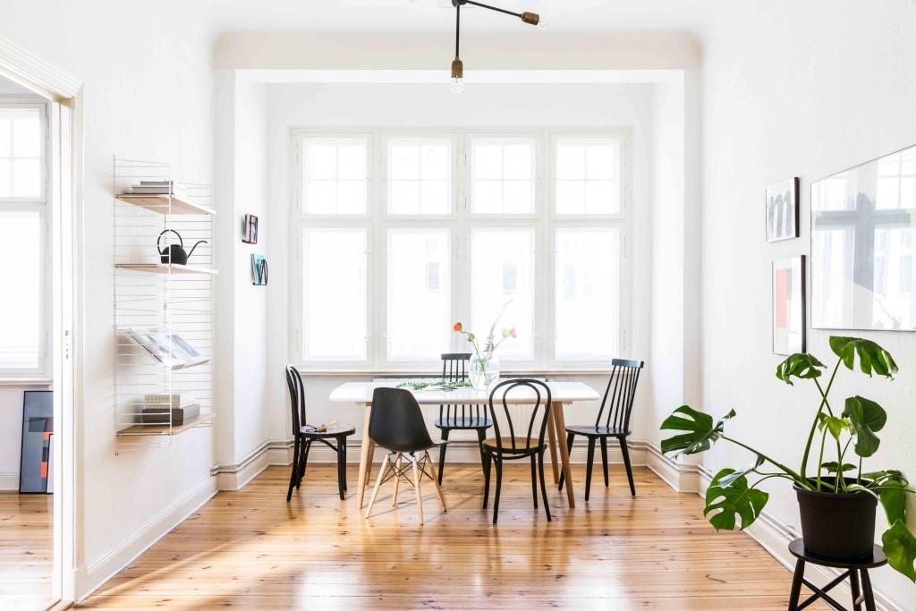 Lichtdurchflutetes Wohnzimmer Mit Offenen Essbereich. #Wohnzimmer  #Esszimmer #Einrichtung #livingroom