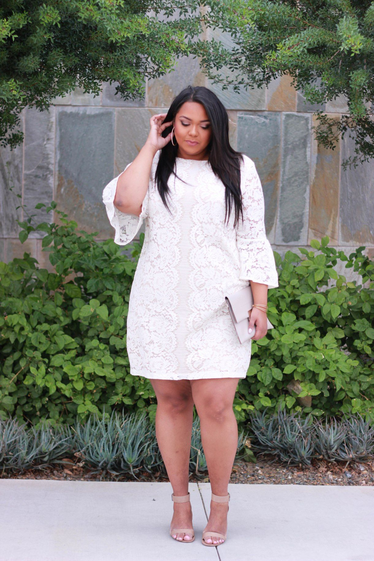 Lace and Flares | My Style | How to wear white jeans, Graduation ...