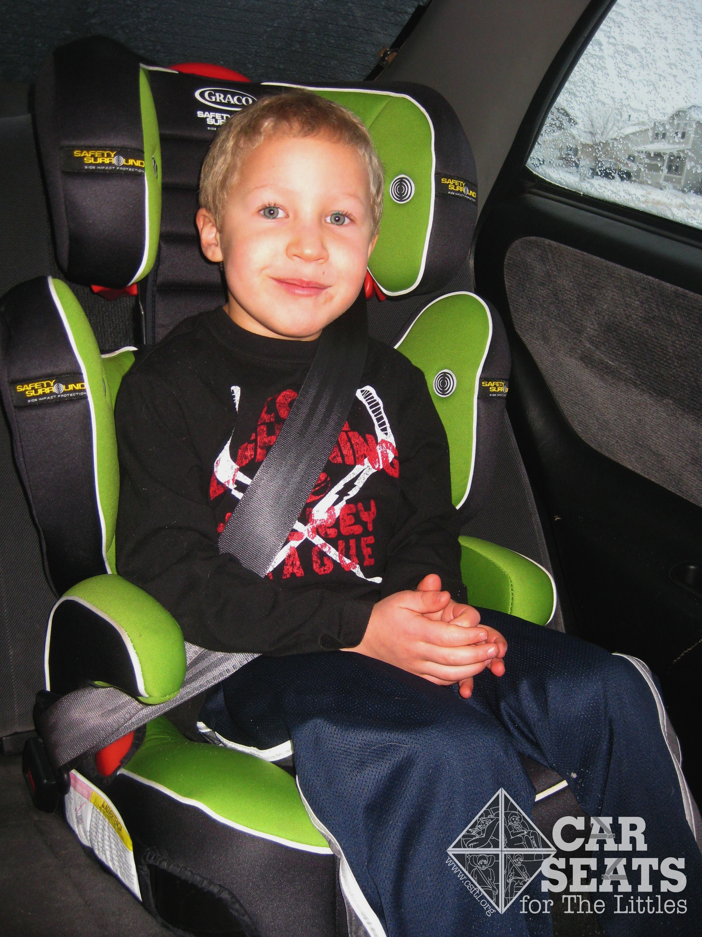 When is my child ready for a booster seat? And why