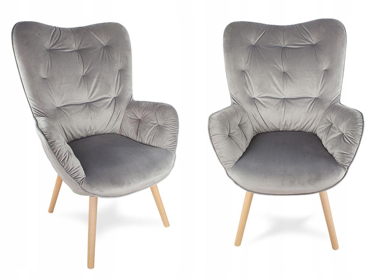 Fotel Uszak Styl Skandynawski Retro Salon F906g Furniture Home Decor Armchair