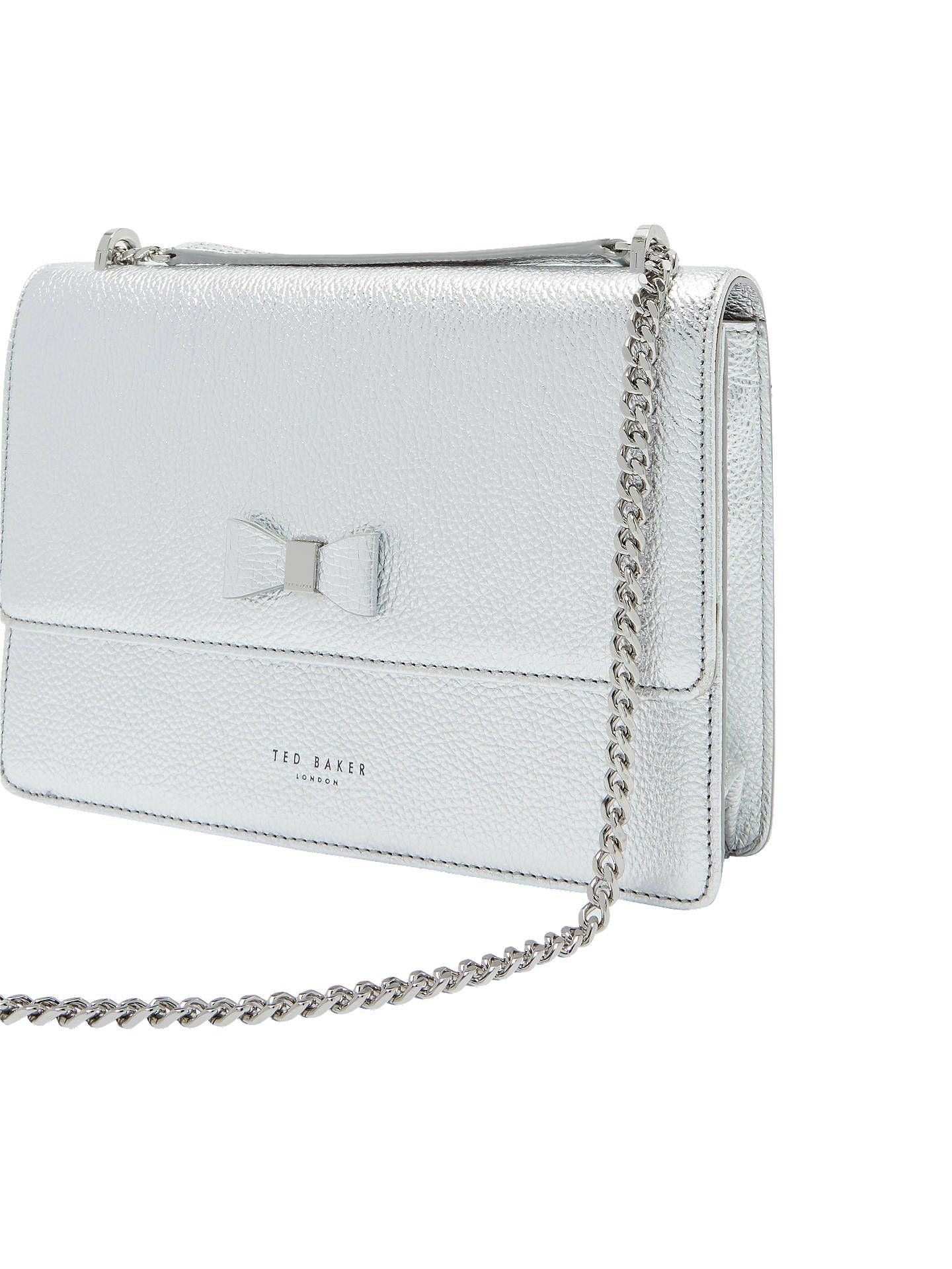 560d7fa68a7f9 BuyTed Baker Dorlea Bow Leather Cross Body Bag