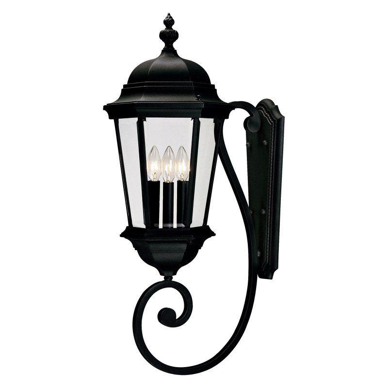 Savoy House Wakefield 5-1300 Outdoor Wall Lantern - 5-1300-BK