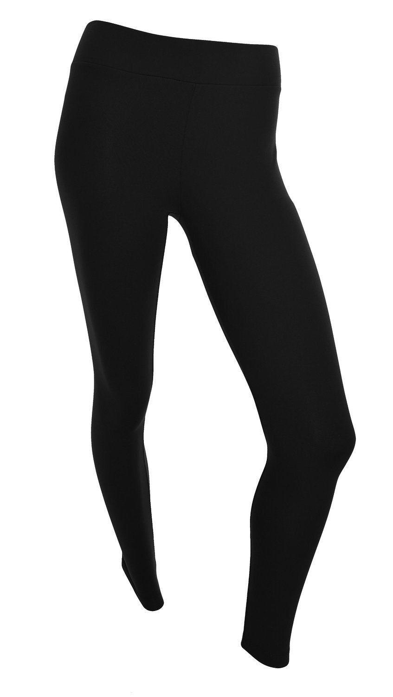 00769f630a9dab Matty M Ladies Legging, Thicker Material, Wide Waist Band, Black, XL ...