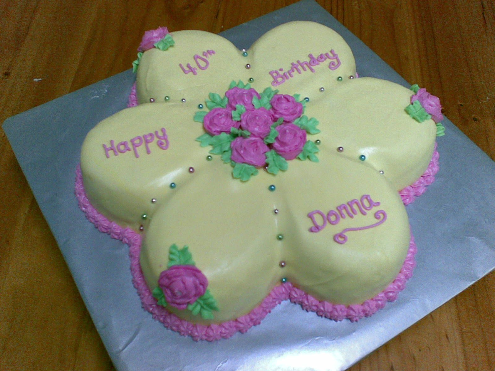 Flower shaped birthday cake flower shaped floral cake i love flower shaped birthday cake flower shaped floral cake izmirmasajfo