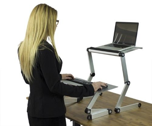 Workez Standing Desk Conversion Kit Affordable Adjustable Height