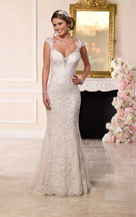 bf15684c82 New at Uptown Bridal! Uptown Bridal & Boutique www.uptownbrides.com 6245  Romantic Lace Wedding Dress by Stella York