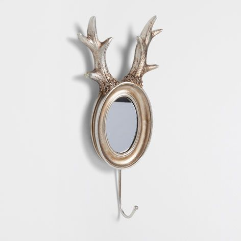 deer antlers hook for home gift ideas zara home united states taxidermy rules. Black Bedroom Furniture Sets. Home Design Ideas