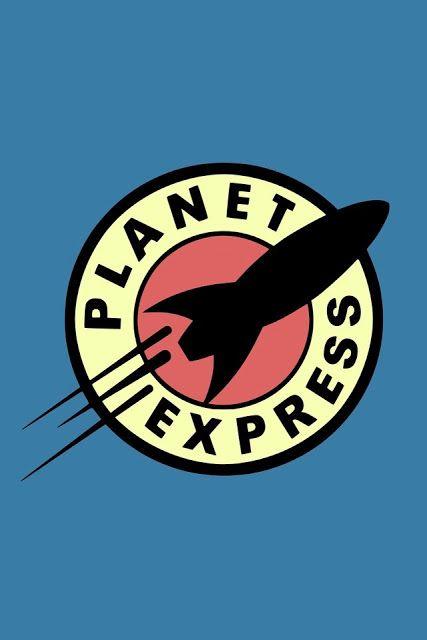 Futurama Planet Express Logo Wallpaper Is Perfect For The Iphone Futurama Iphone Wallpaper Wallpaper