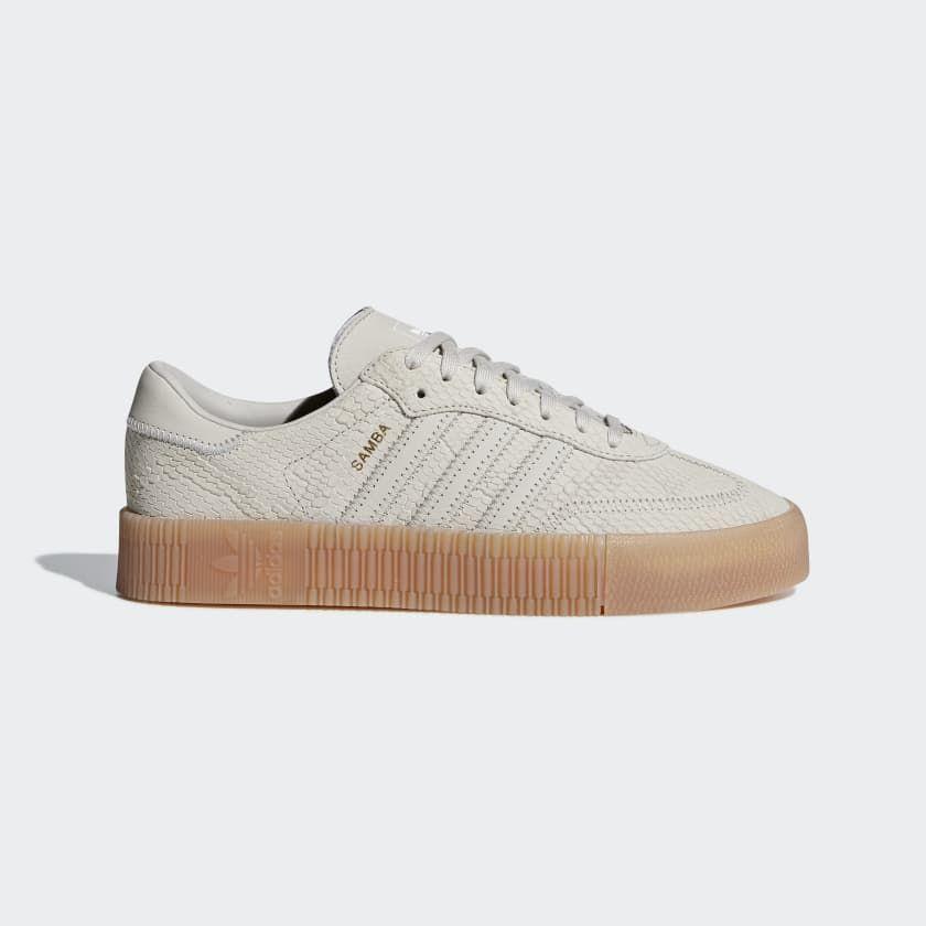Samba Rose Shoes Beige B28163 | Samba shoes, Adidas