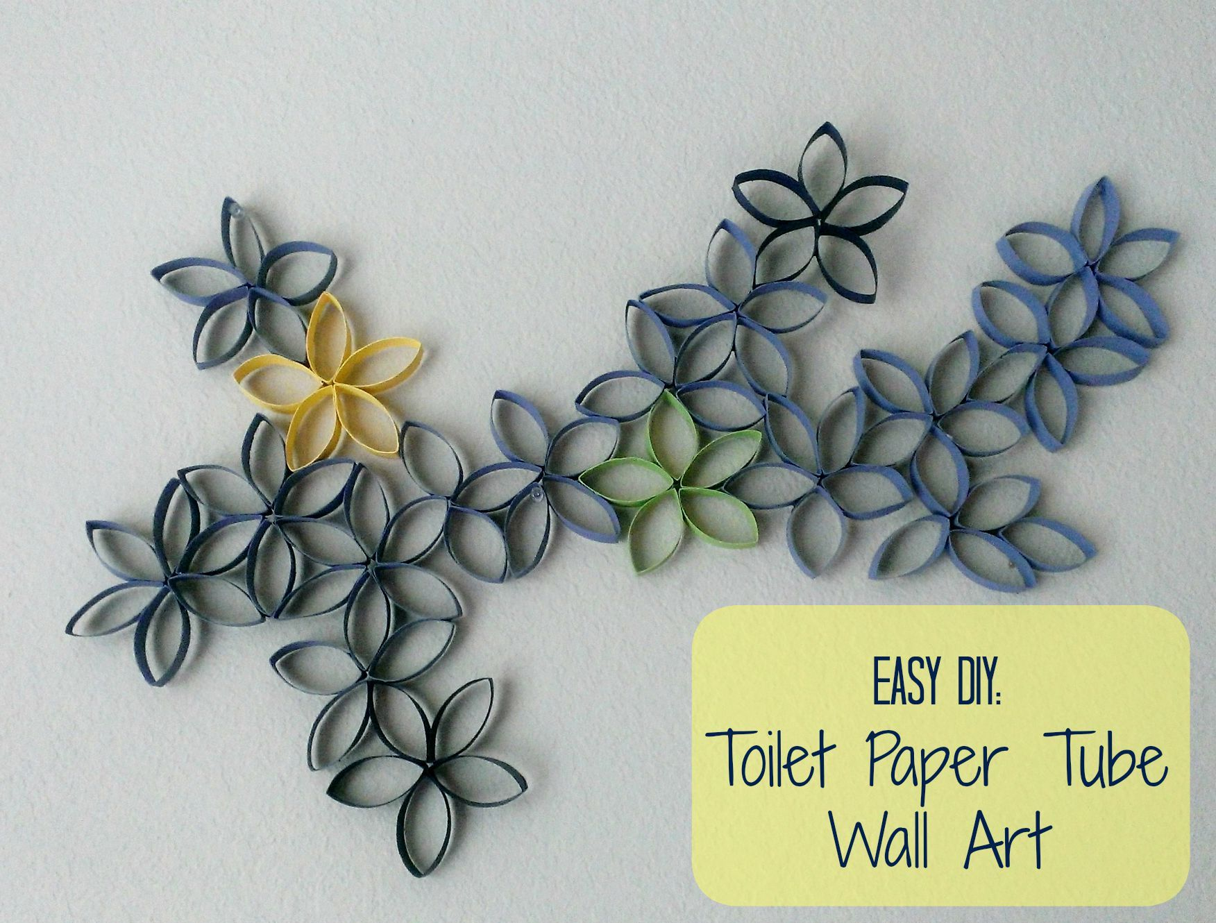 Toilet Paper Roll Wall Decoration - Inexpensive Wall Art, Toilet