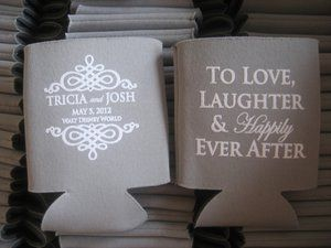 Tag Archives Wedding Koozies Personal For Drink Are A Greate Favor Idea