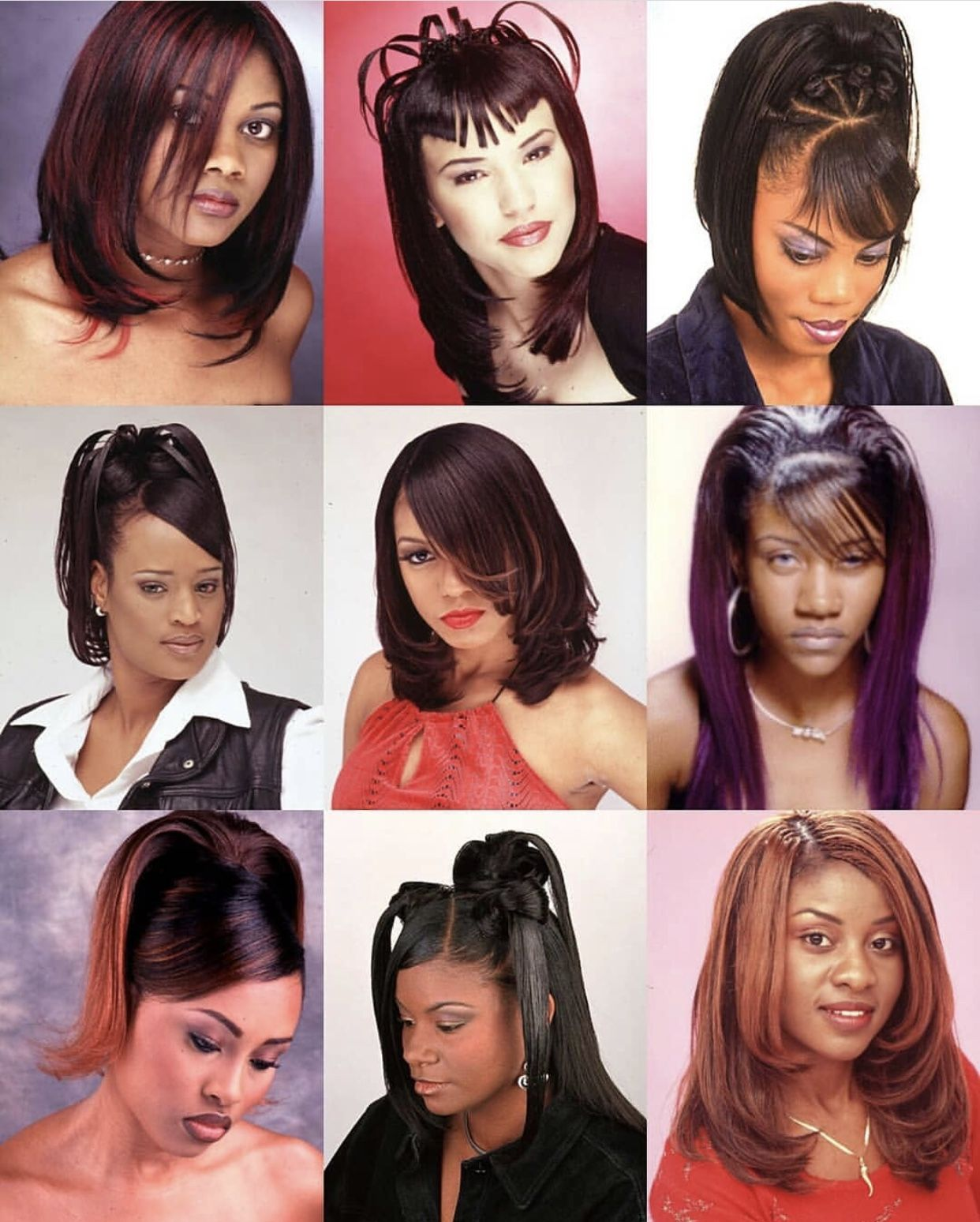 Pin By Dee On Hair Goals Black Hair 90s Black Ponytail