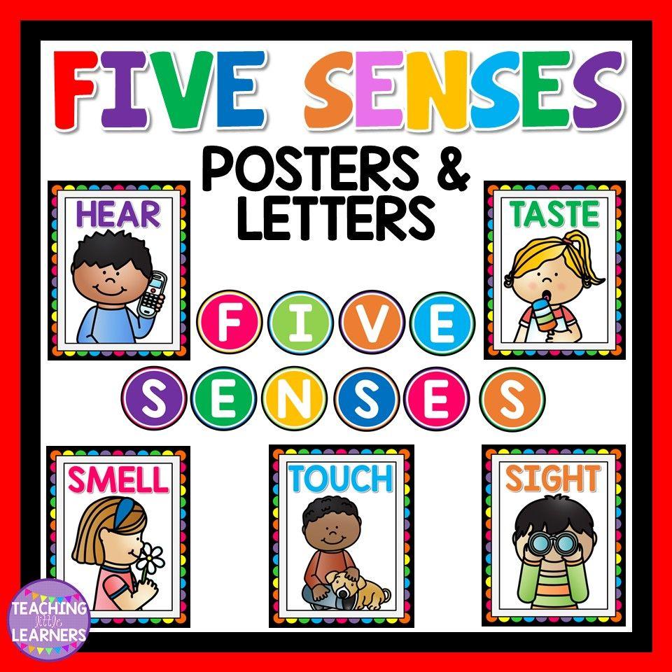 Five Senses Posters Senses Preschool Five Senses Preschool Senses Activities [ 960 x 960 Pixel ]