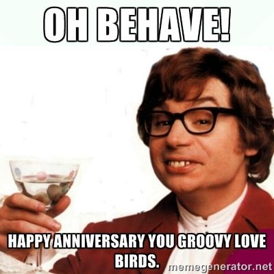 happy anniversary meme - Google Search | Just Fun ...