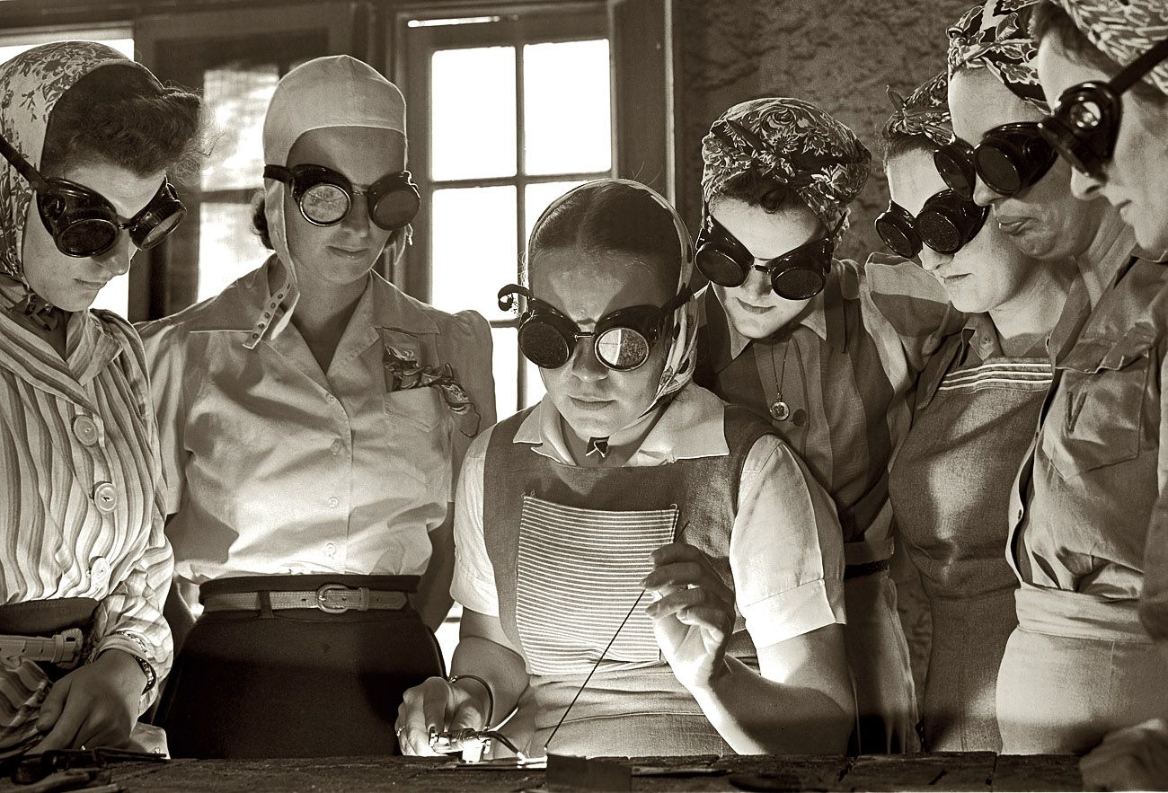 Wwii women image by Andrew Brase on Labs Deck SOLUTION