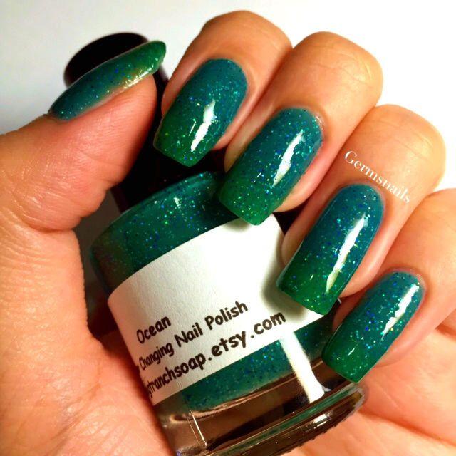 Color Changing Nail Polish Mood By Tranchsoap