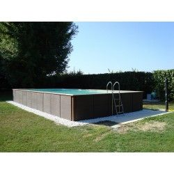 Above ground pool Laghetto Dolce Vita Rattan 3x5 Above