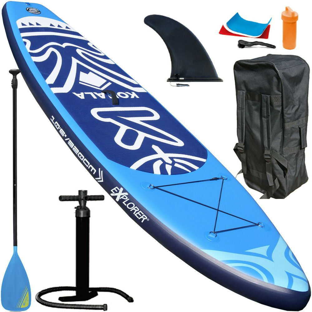 eBay #Sponsored EXPLORER KOHALA 320 SUP Stand Up Paddle Surf Board Paddel ISUP Paddling Aqua #surfsup