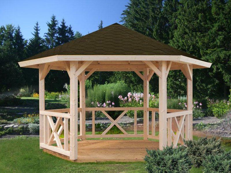 Alisa Gazibo Kit Backyard Pavilion Diy Gazebo Garden Gazebo
