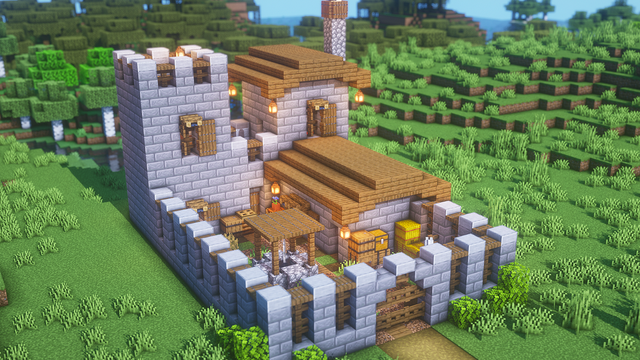 What do you think of this small Castle