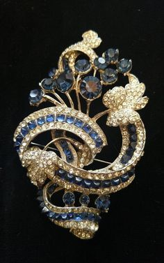 Costume Jewellery Silver Brooch Brooches & Pins Costume Jewellery But Very Pretty