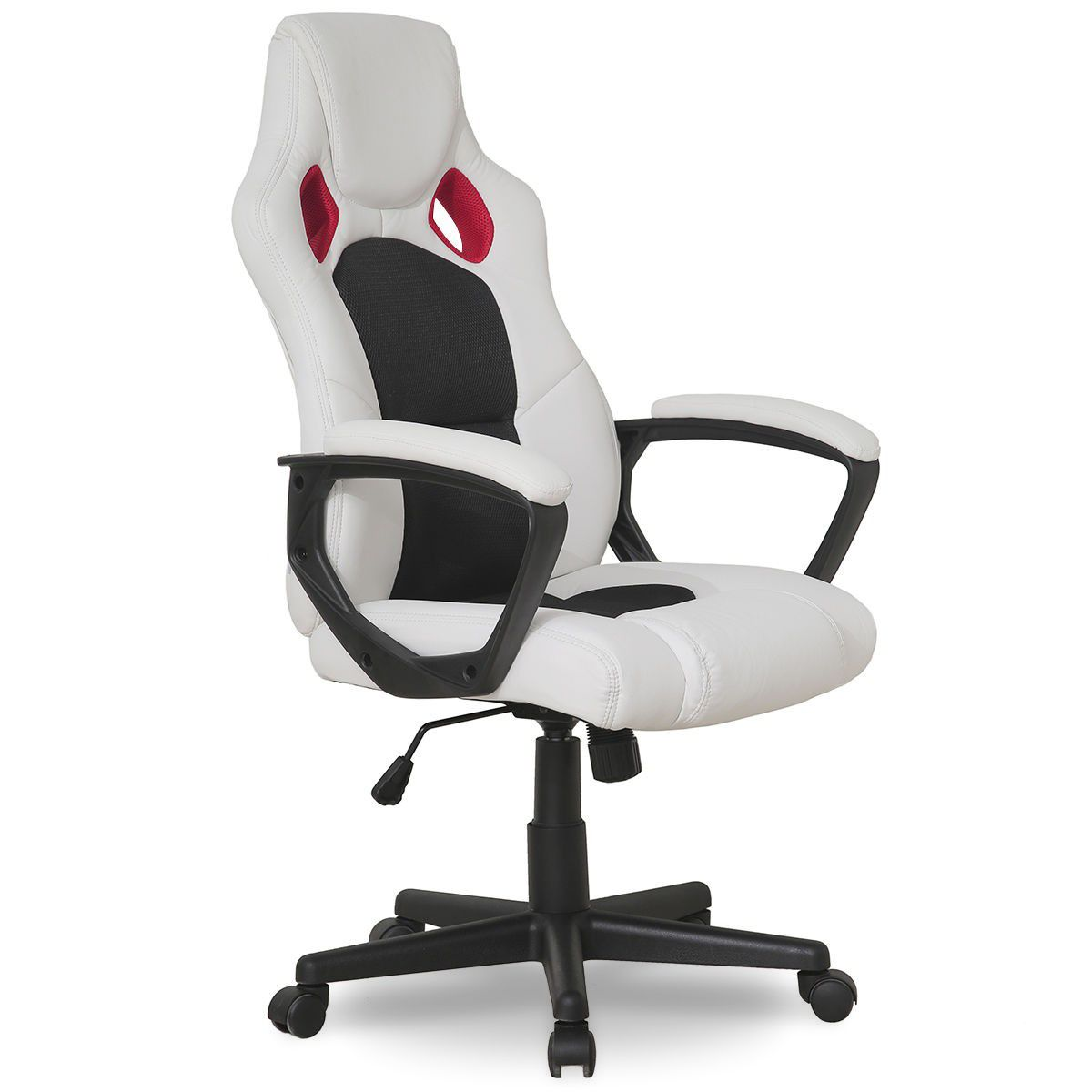 Executive adjustable high back swivel gaming chair with