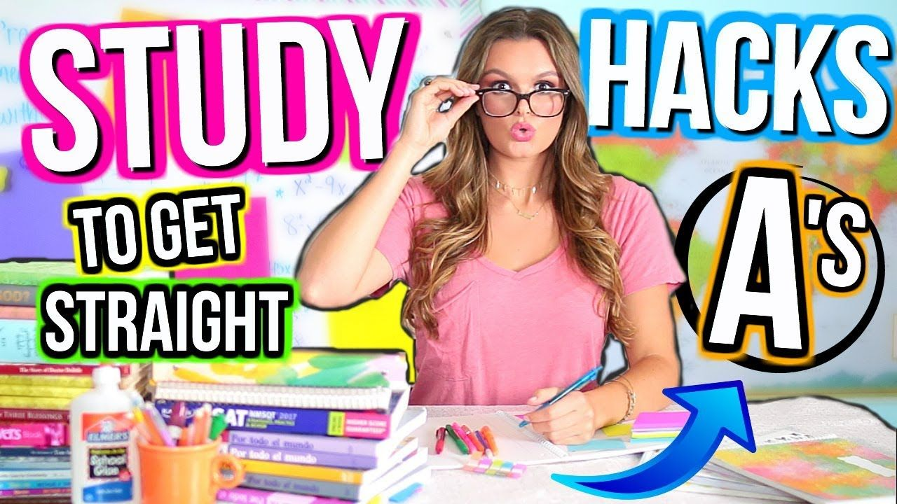 How To Get Straight A's in School 10 Study Hacks to Get