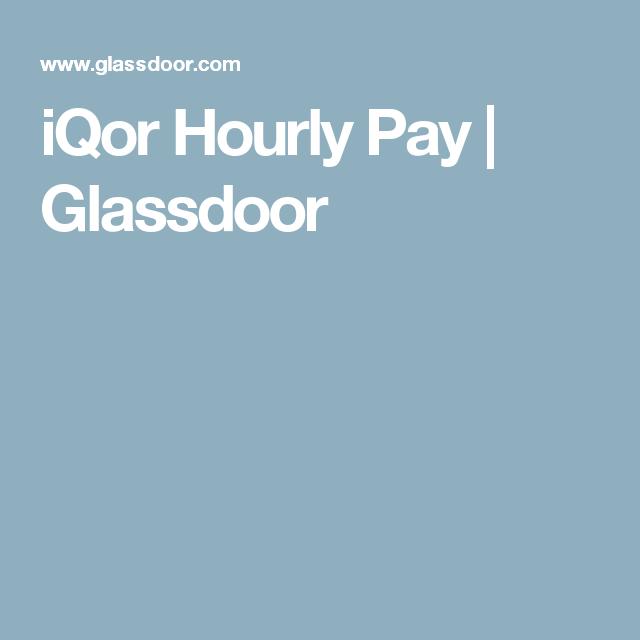 Iqor Hourly Pay Glassdoor Hour Job Paying