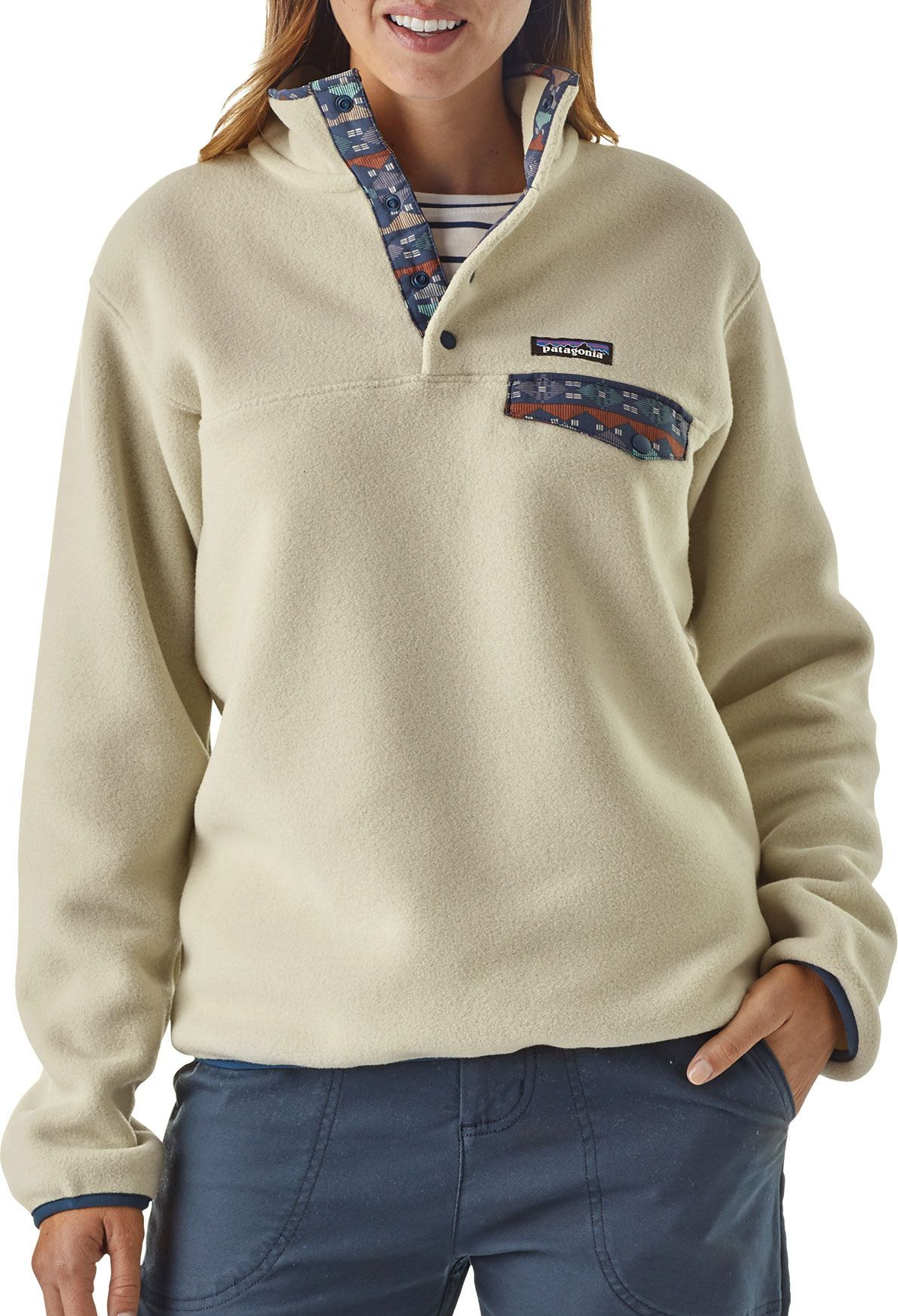 Patagonia Women's Synchilla Snap T Fleece Pullover in 2019
