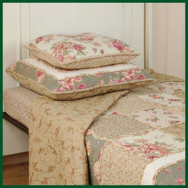 romantische quilts und tagesdecken hochwertige textilien. Black Bedroom Furniture Sets. Home Design Ideas
