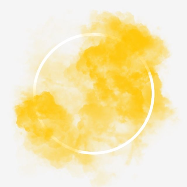Yellow Smoke Effect Circle Frame Frame Smoke Png Transparent Clipart Image And Psd File For Free Download Watercolour Texture Background Circle Frames Paper Background Texture