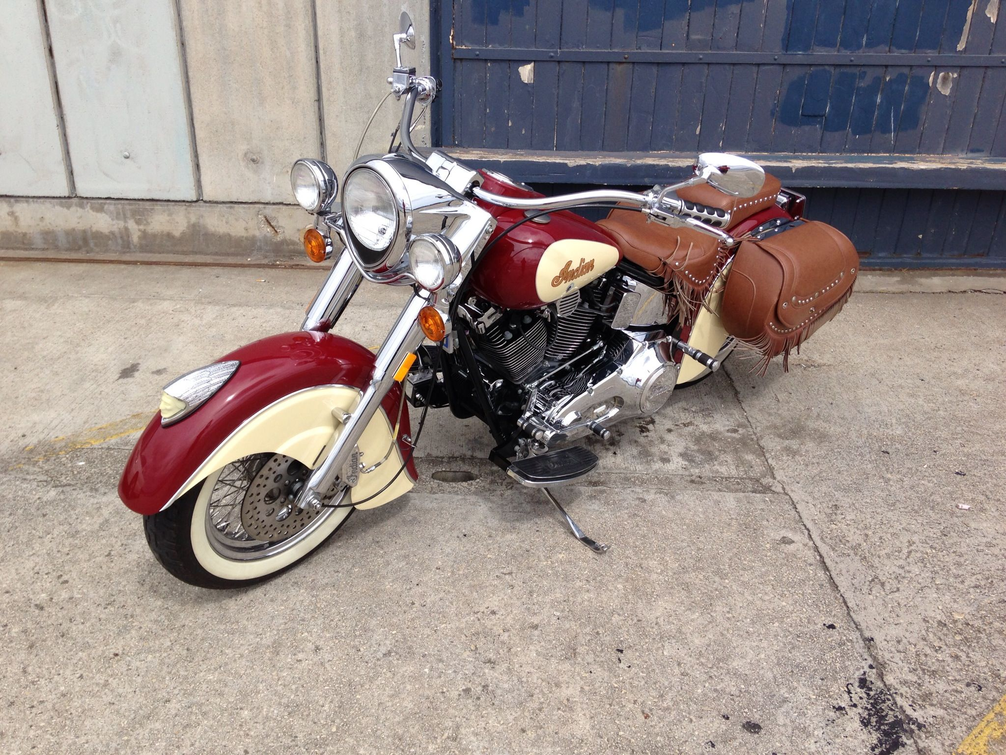 An Immaculate Indian Spotted At Beauty Point Wharf Tasmania Tasmania Motorcycle Spotted