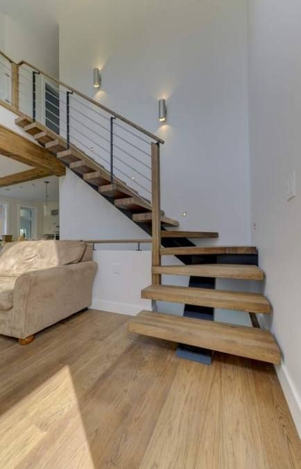 56 Ideas Stairs Metal Wood Design Design Wood Stairs Stairway