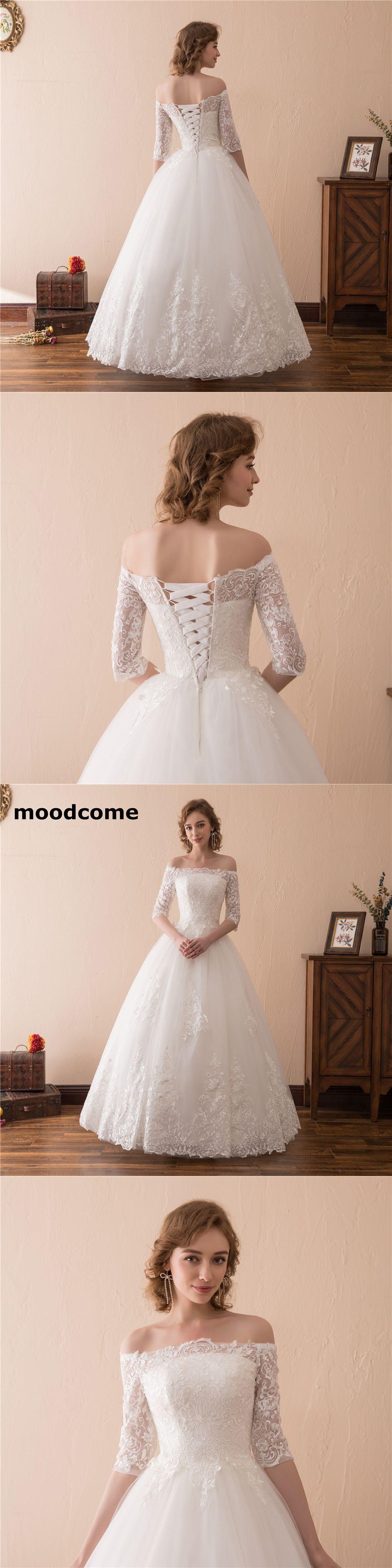 sexy illusion wedding dresses ball tulle half sleeve strapless