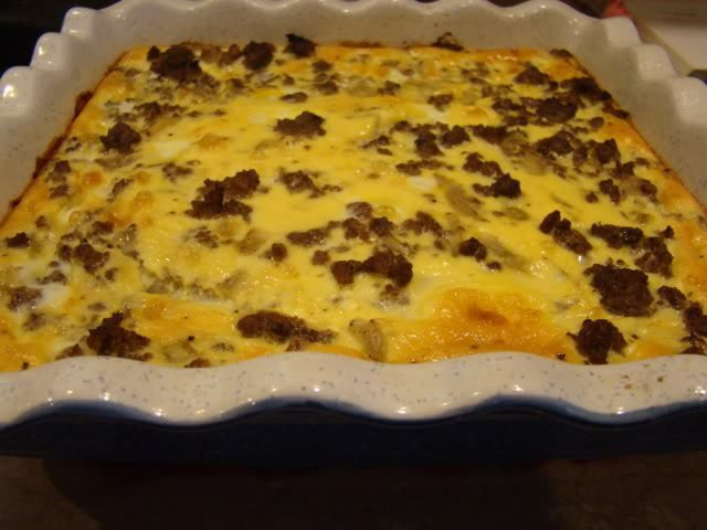 Chilies relleno bake with ground beef!