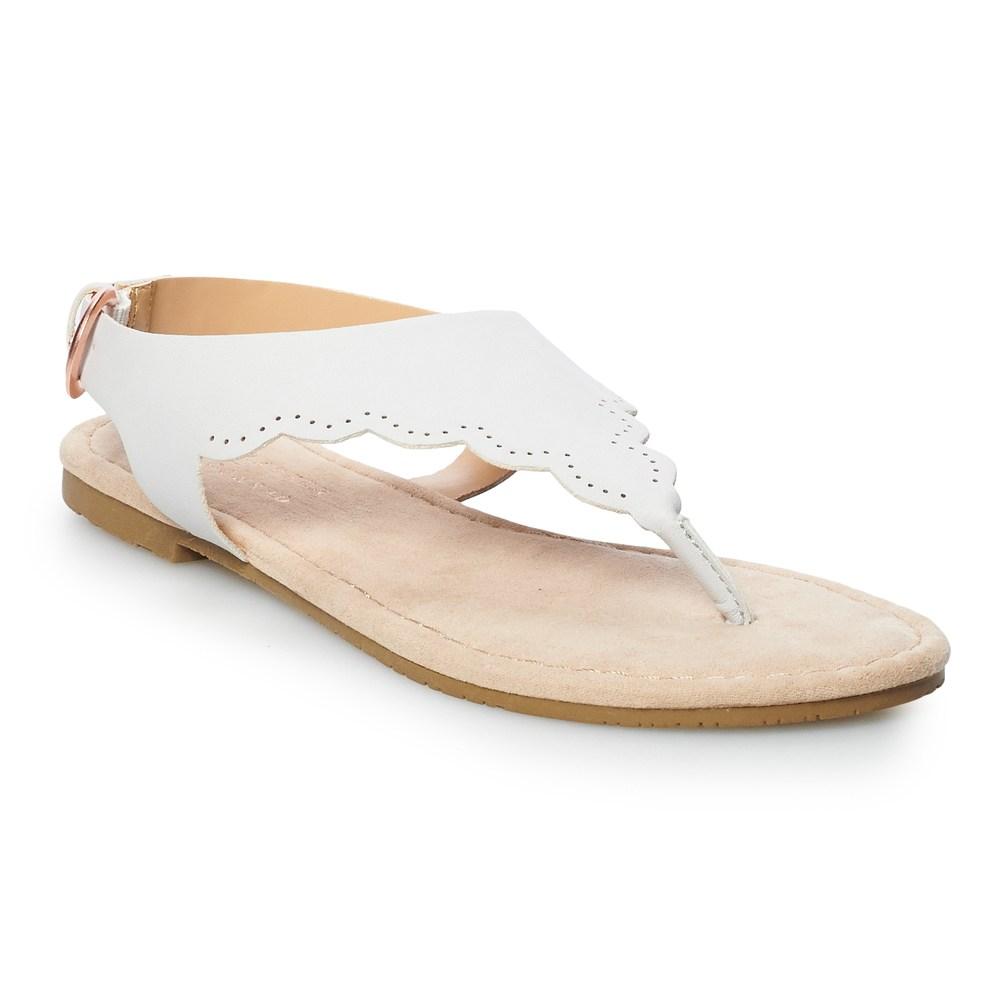 LC Lauren Conrad Mint Womens Slide Sandals   Women slides