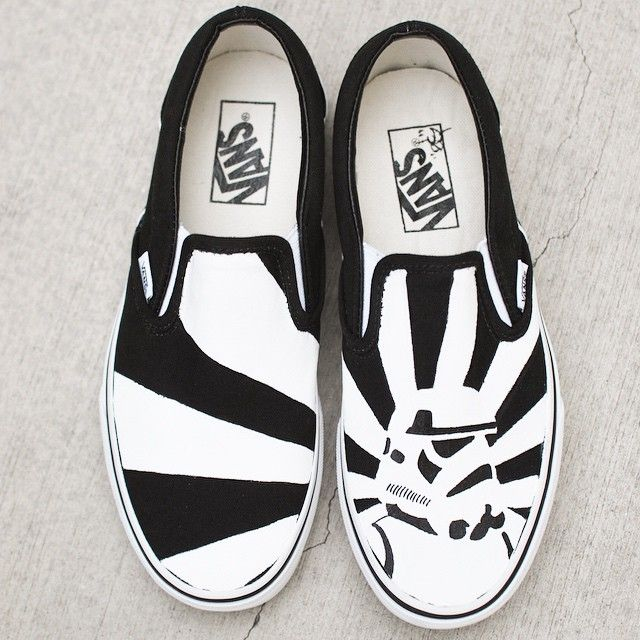 1efbf5338d483c May The Force Be With You.  starwars  stormtrooper  bstreetshoes ...