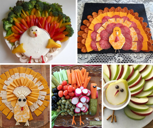 THANKSGIVING APPETIZERS: 20 Fun Turkey-themed Snacks