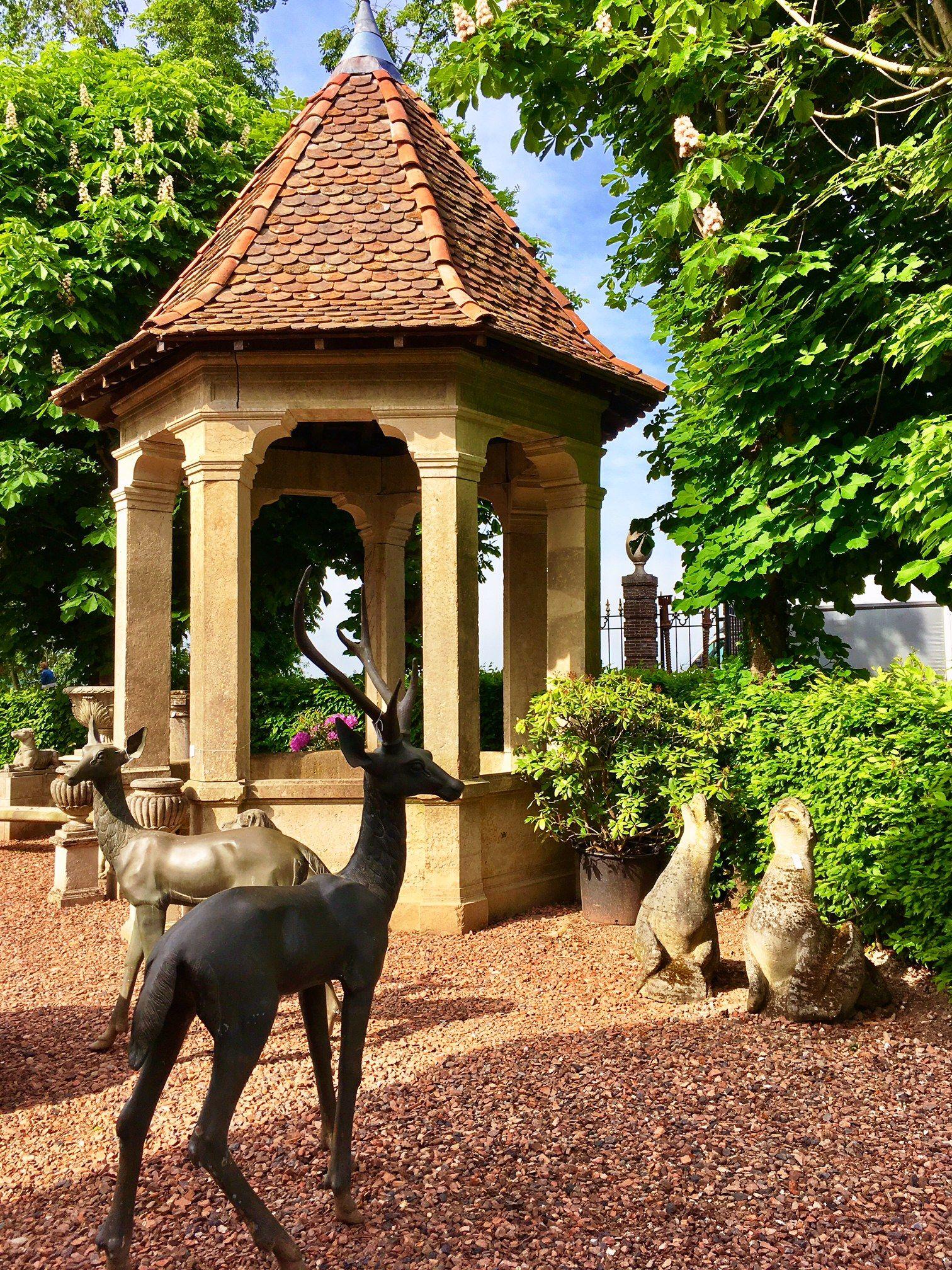 Piet Jonker Architectural Antiques Gloriette garden antiques