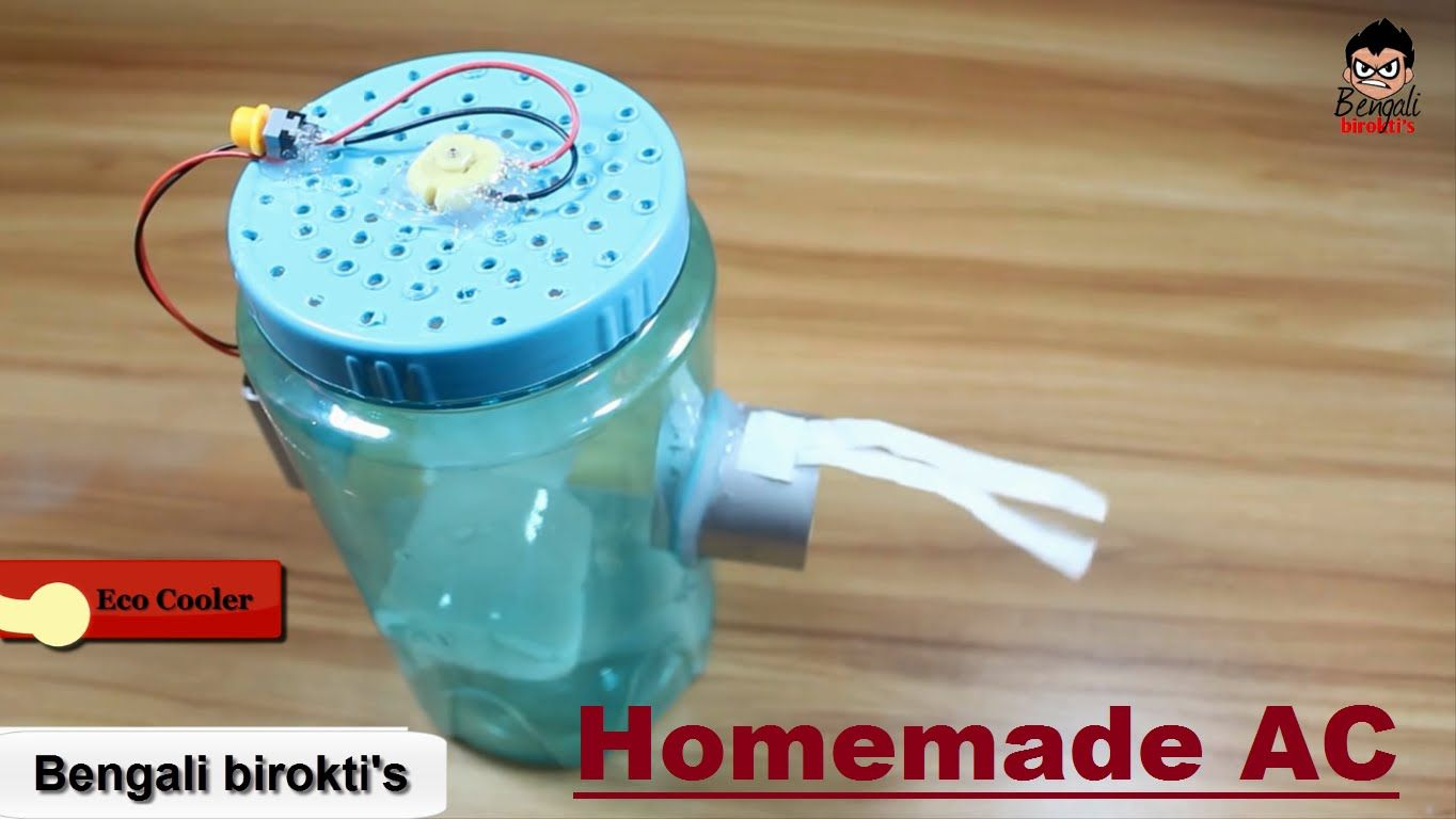 Diy Air Conditioner No Electricity How To Make Ac Air Conditioner Without Electricity