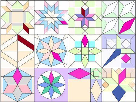 parallelogram patterns   CROCHETICORN!   Pinterest   Mask design : parallelogram quilt pattern - Adamdwight.com