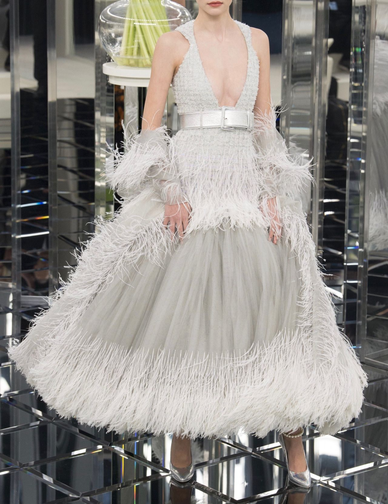 Starry eyed chanel spring couture style