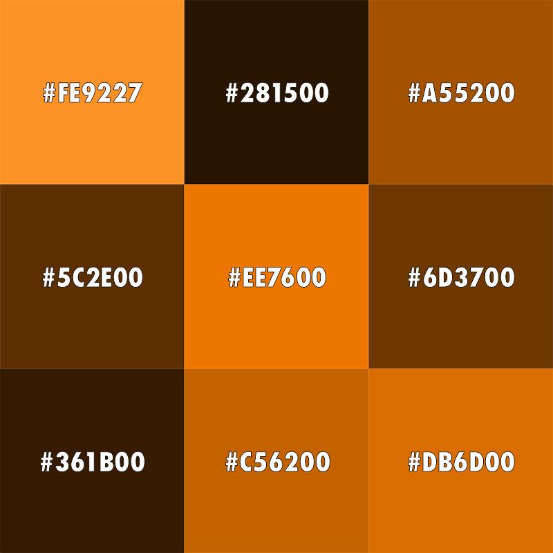 Orange Color Meaning The Color Orange Color Meanings Brown Color Color Symbolism